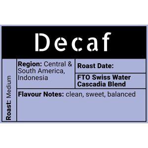 Decaf Evolve Coffee Moose Jaw