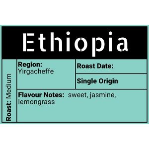 Ethiopia (Yirgacheffee) Evolve Coffee Moose Jaw