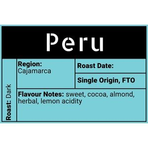 Peru Evolve Roasted Coffee Moose Jaw