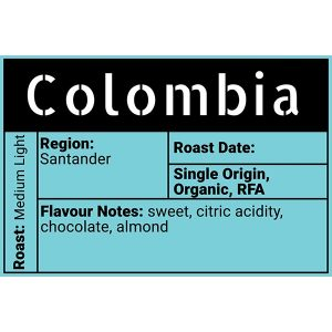 Colombia Coffee - Fresh Roasted Beans - Moose Jaw - Evolve Coffee