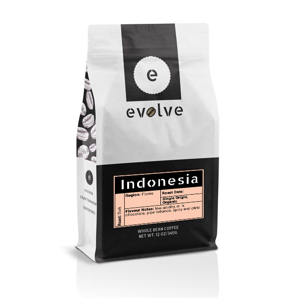 Indonesia (Flores) Coffee - Moose Jaw - Evolve Coffee