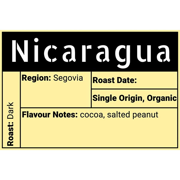 Nicaragua (Segovia) Coffee - Evolve Coffee - Moose Jaw